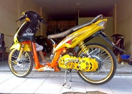 Mio Drag 150cc Modifikasi Motor Drag Mio