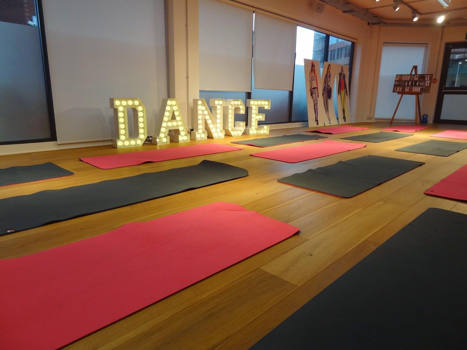 Sweaty Betty GF4F 30 Day Sweat Challenge Launch Dance Studio