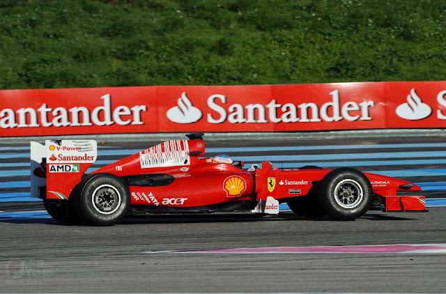 El Santander se piensa seguir en Ferrari