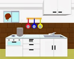 Find the Escape-Men 85: Secret House 4 - Old Housekeeper