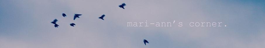 mari-ann's corner