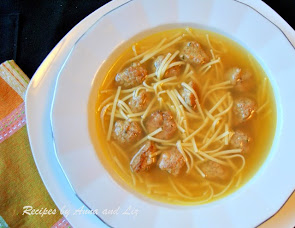 EASY Chicken Soup with Mini Meatballs