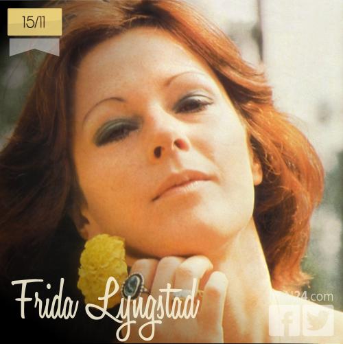 15 de noviembre | Frida Lyngstad - @AbbaFabFour | Info + vídeos