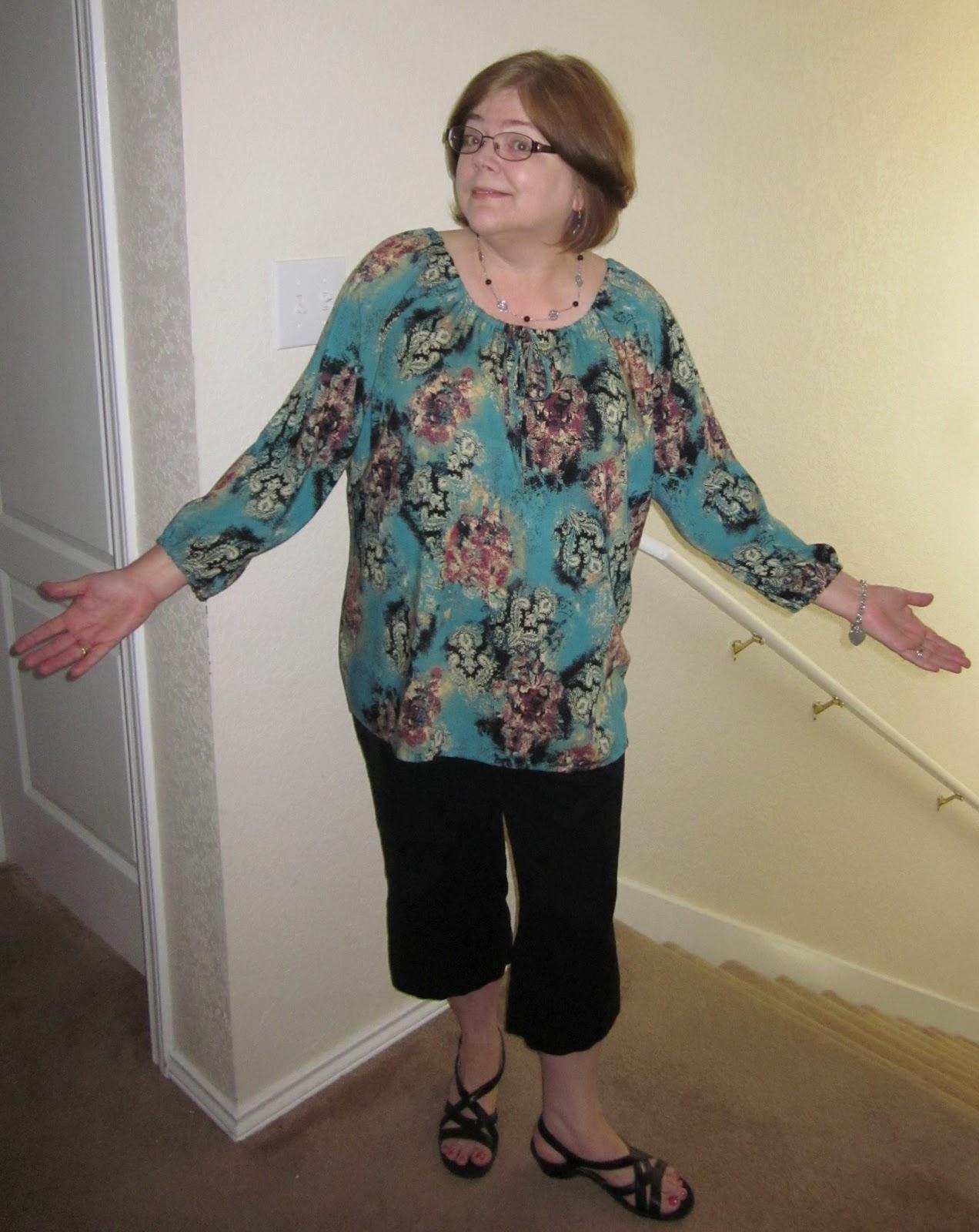 Printed Sewing Pattern  Anita Peasant Blouse Style Arc AUS