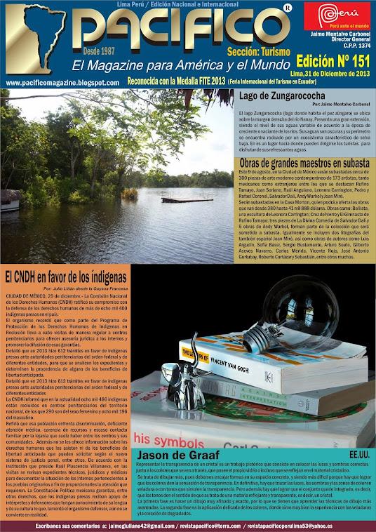 Revista Pacífico Nº 151 Turismo