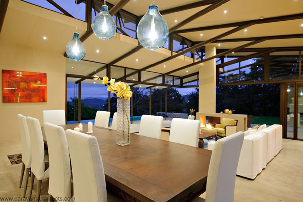 Dinning place of luxury-homes