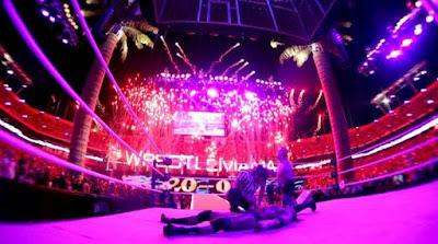 the undertaker vence a hhh y su racha es de 20 - 0 en wrestlemania