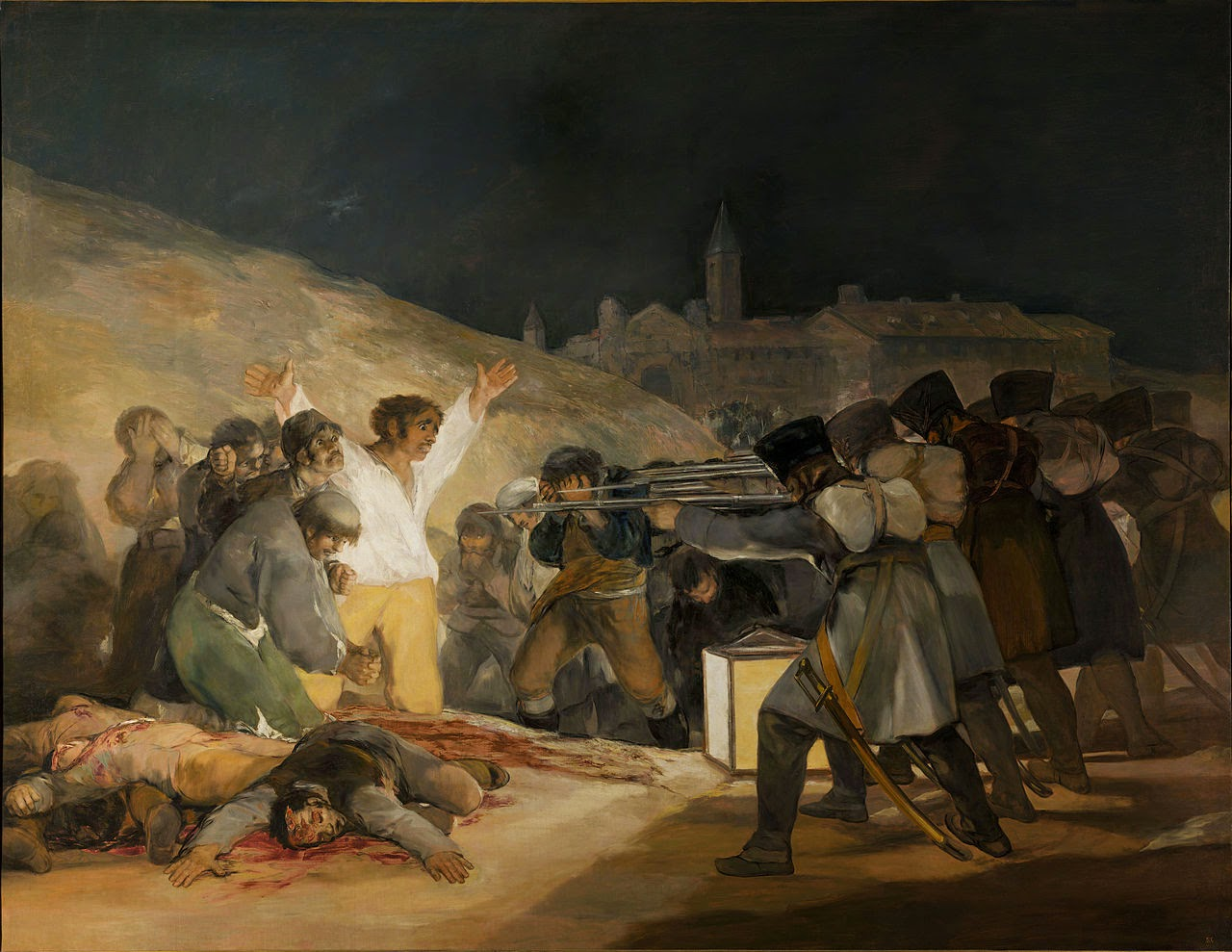 analysis painting guernica picasso and third may goya The third of may 1808 is a painting by francisco goya famous artwork: the third of may the massacre in korea and guernica by pablo picasso and execution.