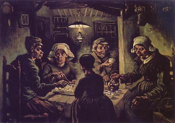I mangiatori di patate - Van Gogh