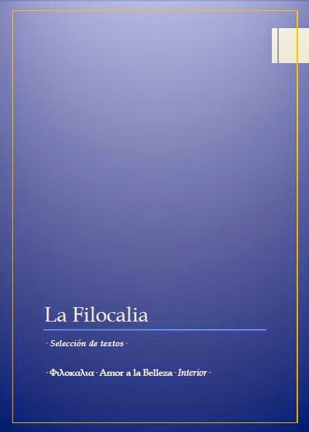 · La Filocalia · Selección de textos ·