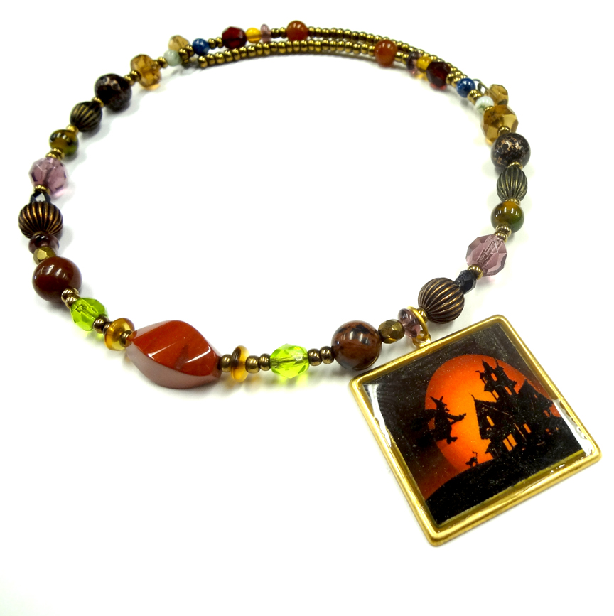 Resin crafts halloween resin for Jewelry just for fun