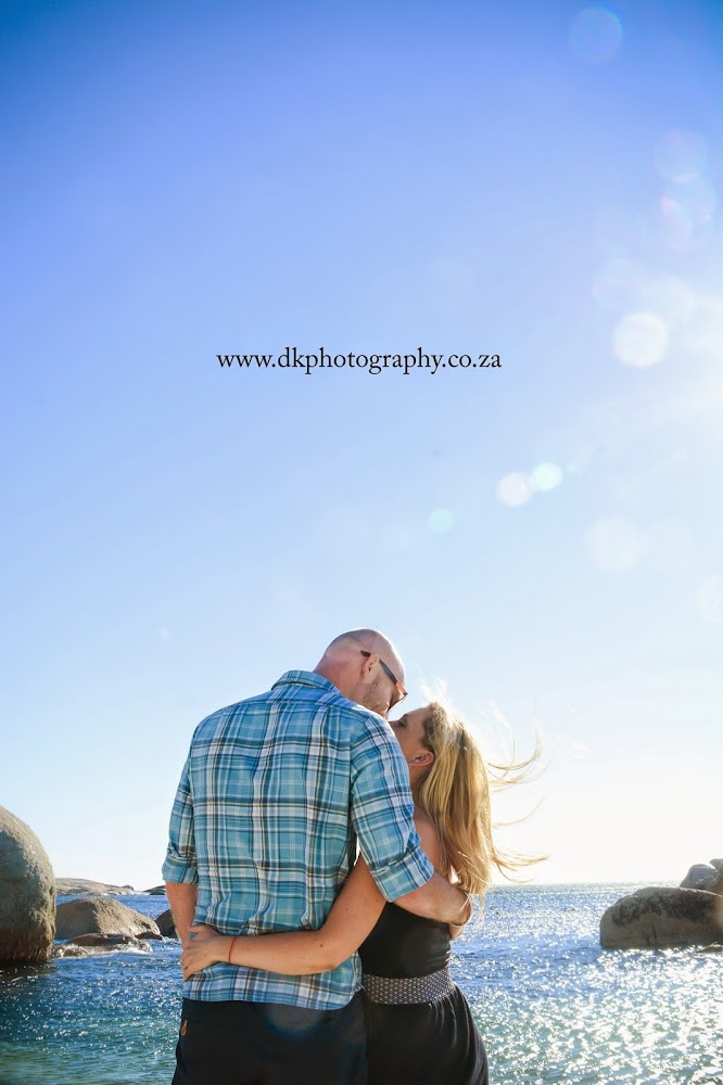 DK Photography M14 Preview ~ Megan & Wayne's Engagement Shoot on Camps Bay Beach