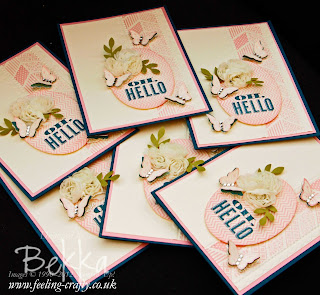 Oh Hello Cards by Stampin' Up! Demonstrator Bekka Prideaux for people who joined her team - a great way to turn your hobby into a business.  Contact her to find out more.