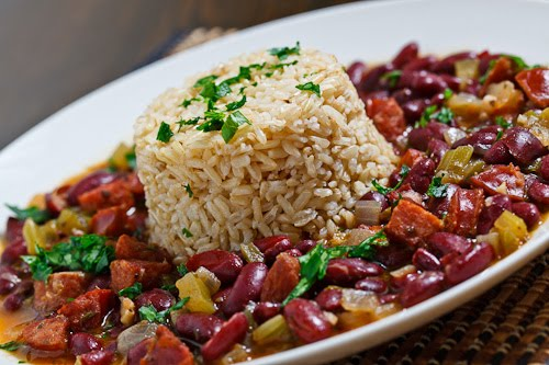 Cajun Red Beans and Rice on Closet Cooking