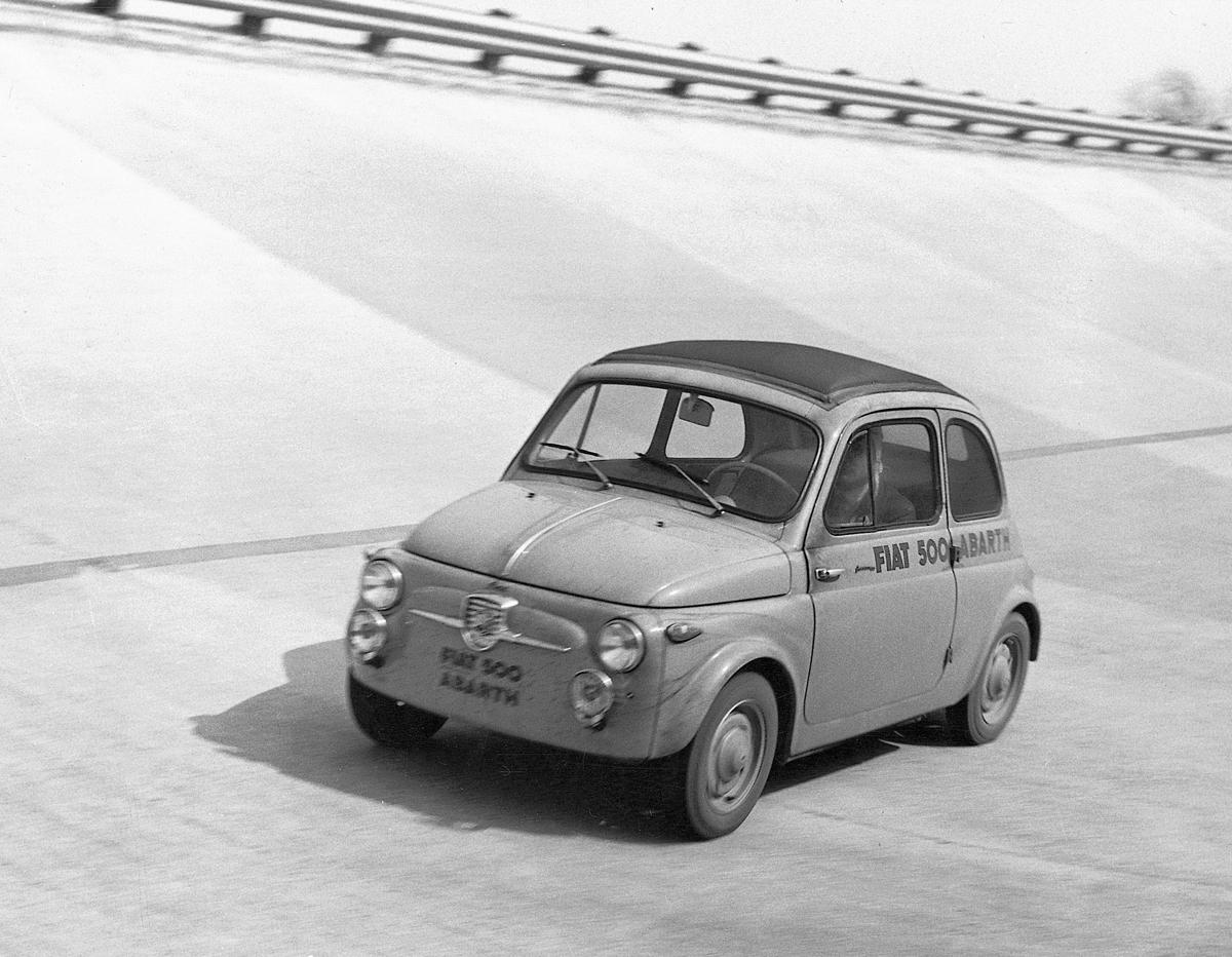 1958 Fiat 500 Abarth sul