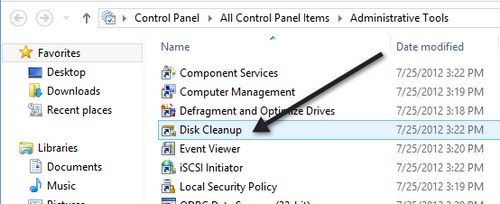 how to run a disk scan in windows 7
