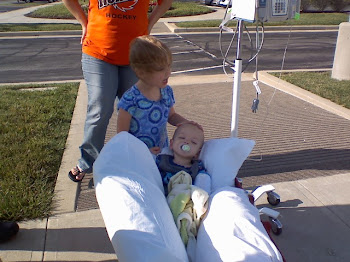Levi and Caylee at Riley Hospital