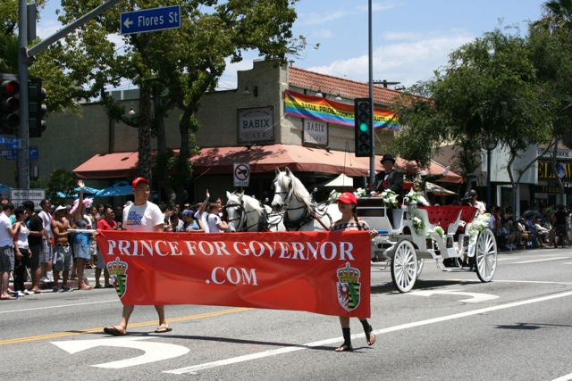 Prince Frederic LA Pride 2010