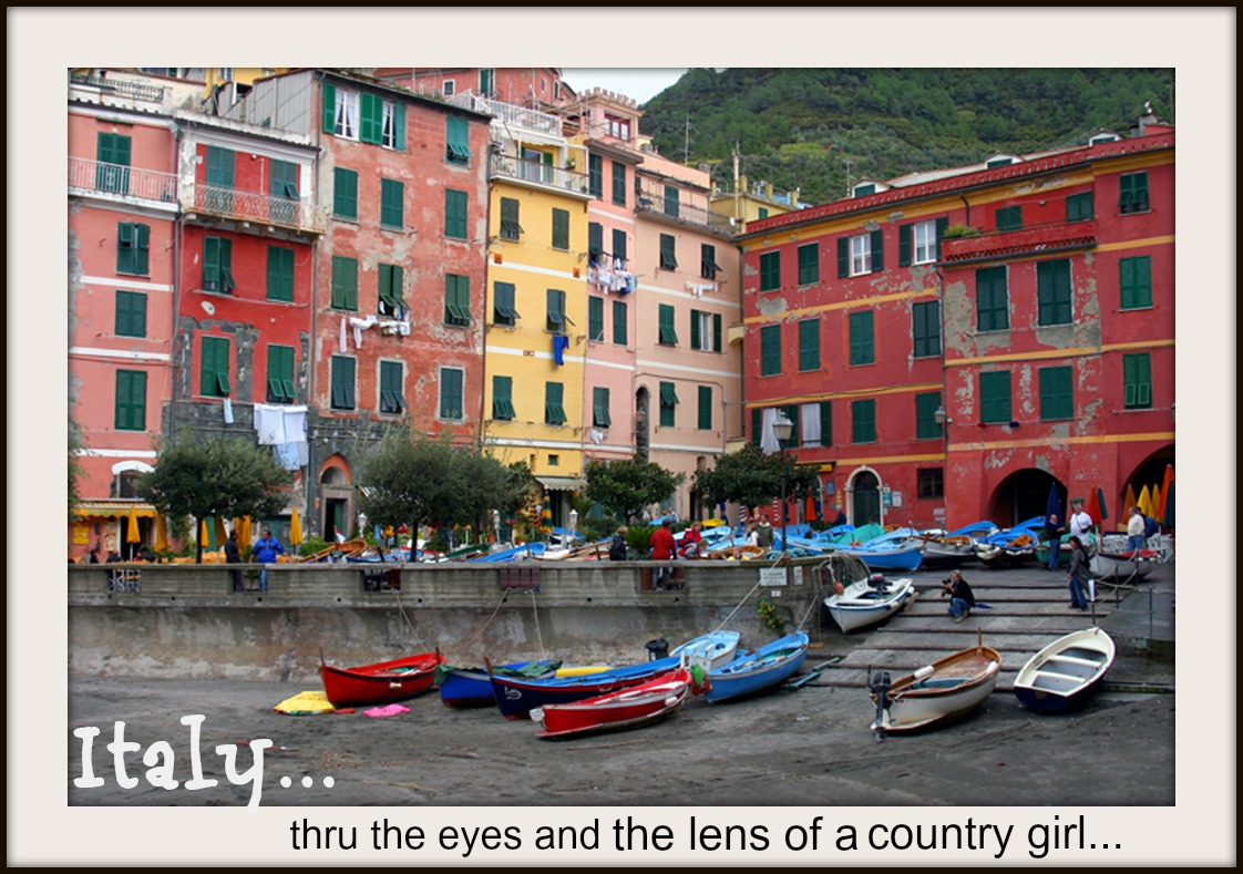 ITALY......thru the eyes and the lens of a country girl...