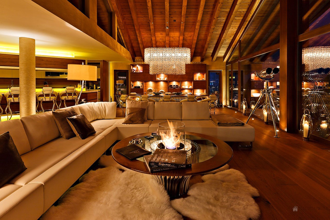 Passion for luxury chalet zermatt peak the premier chalet in the swiss alps - Luxury interior ...