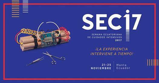 Semana Ecuatoriana de Cuidados Intensivos #seci17