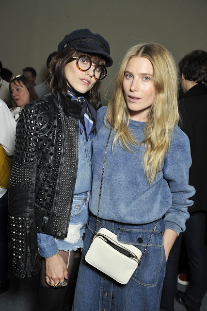 Dree Hemingway and Langley Fox