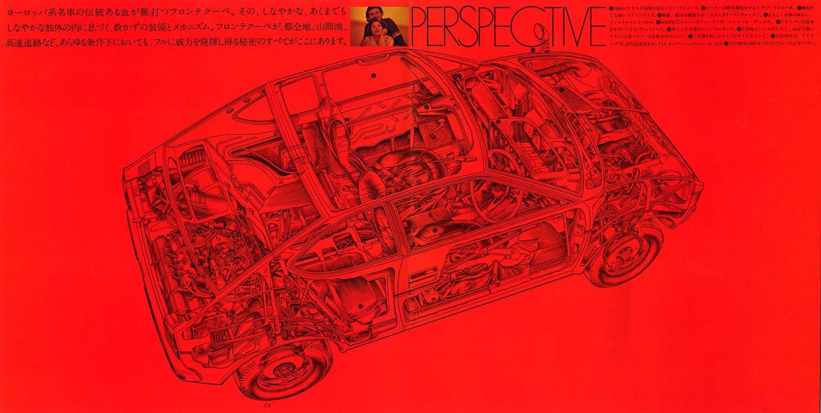 suzuki fronte coupe, lc10w, przekrój, kei car