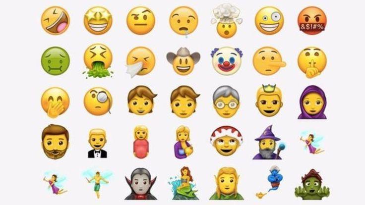 Estos son los nuevos emoticones