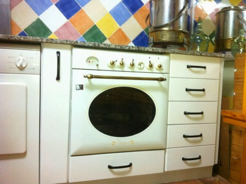 Decora tu hogar transformaci n de mueble de cocina - Lacar muebles a pistola ...