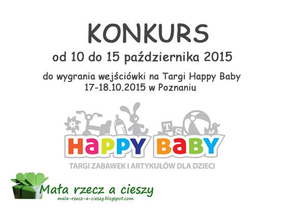 Konkurs - do wygrania wejściówki na targi Happy Baby w Poznaniu / Wyniki
