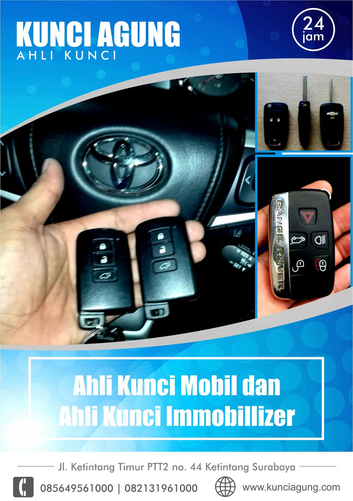 Kunci Mobil Immobilizer