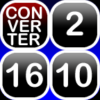 Base Converter (Bin, Dec, Hex) for iPad icon
