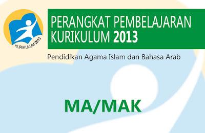 RPP K13/Kurnas Akidah Ahlak MA/MAK Kelas 11