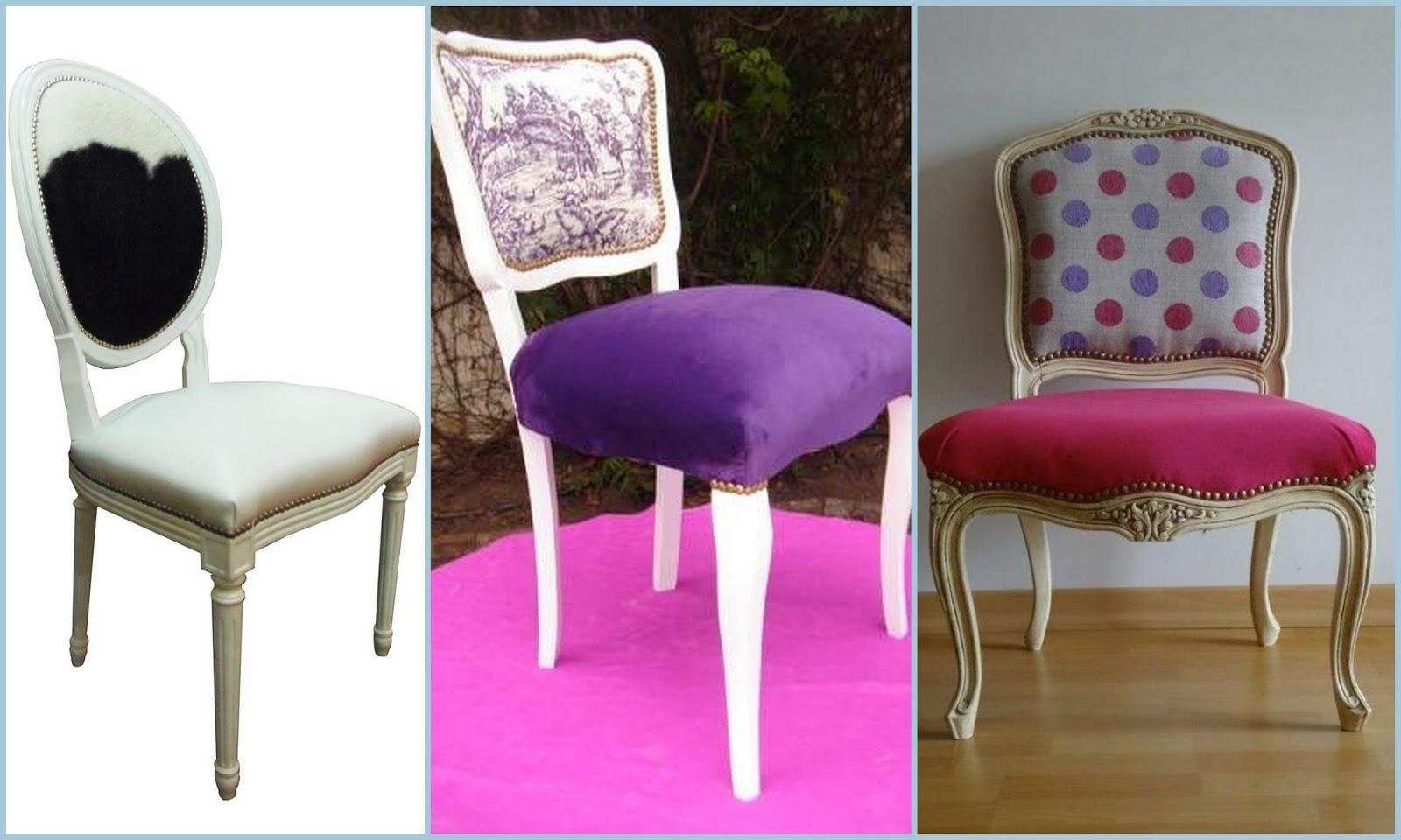 Dolce hogar silla estilo luis xvi for Sillas de estilo