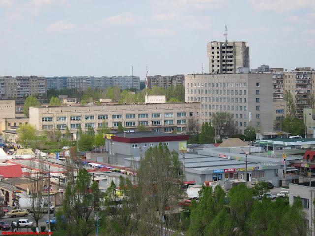 Весна в Днепродзержинске. Фото 1.