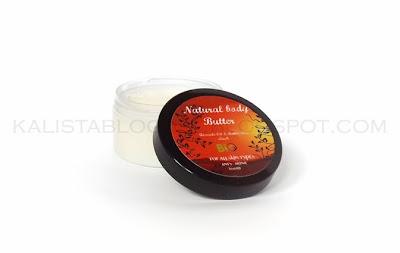 Balsam z masłem shea i olejem arganowym- piżmo