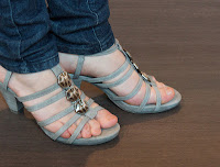 Wenge Original Laminat Heels