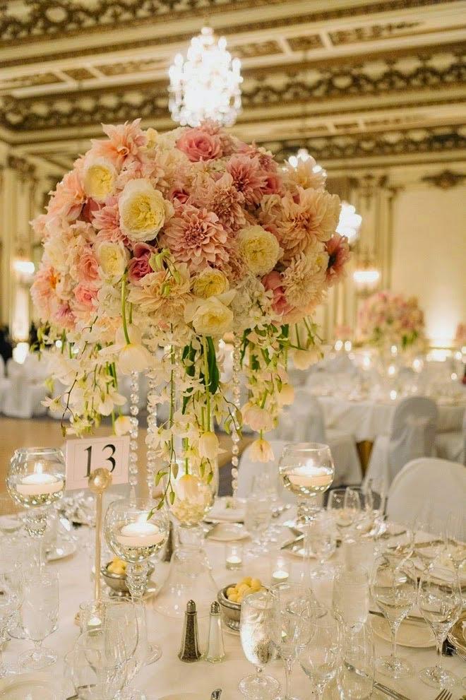 цветочный свадебный декор