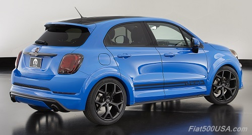 Fiat 500X Chicane Rear