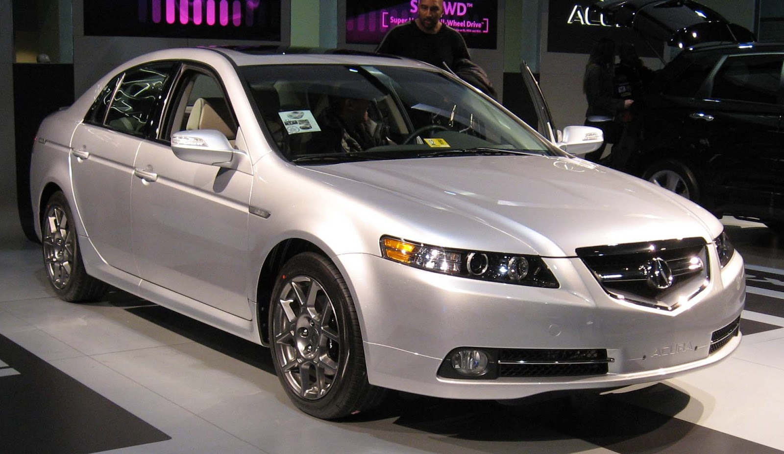 acura tl tech world