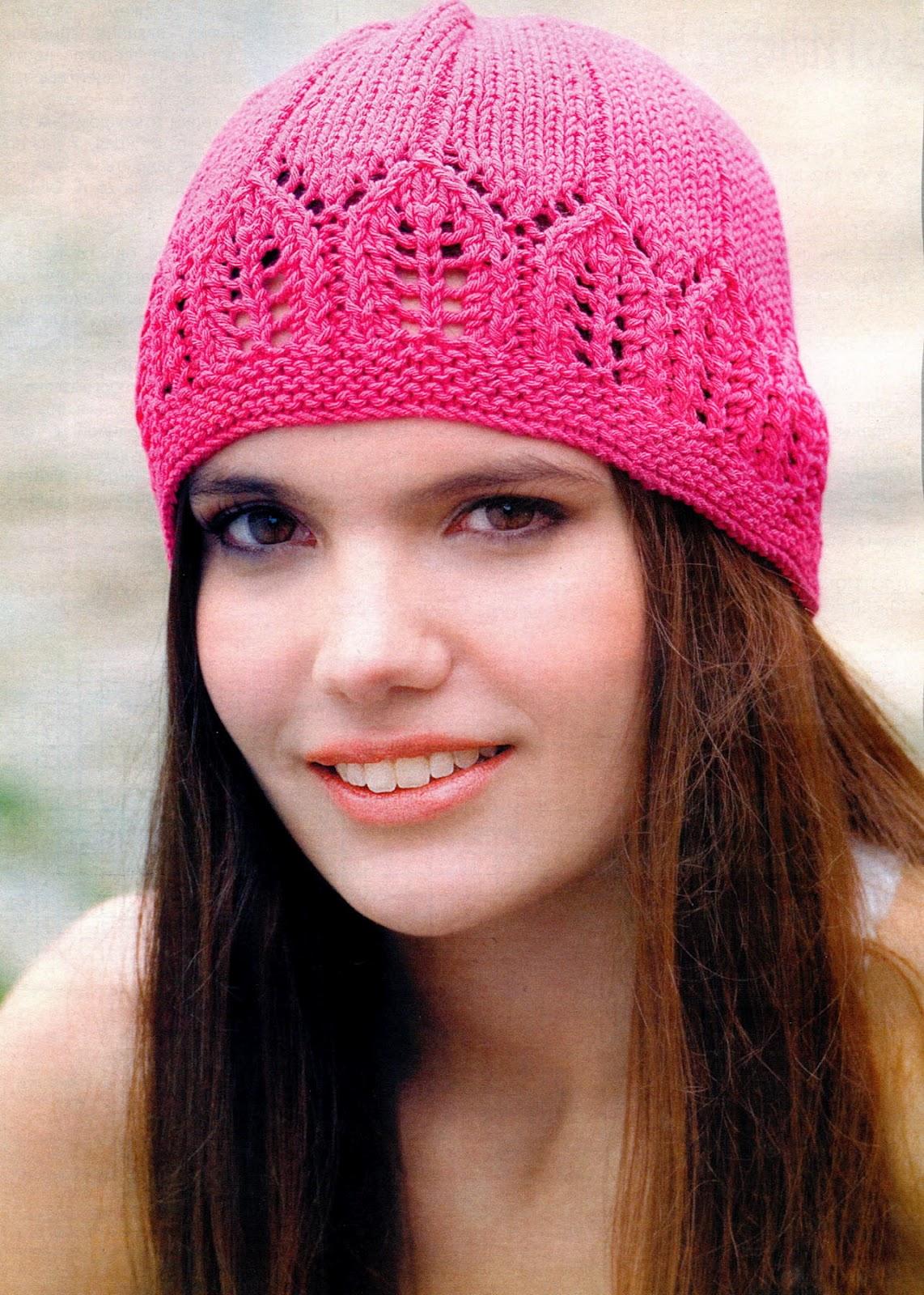 Images for вязанные береты спицами для девочек 3 5 лет.  Вязание шапок.