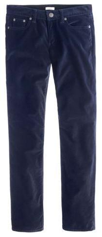jcrew velvet jeans