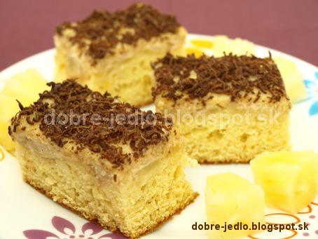 Ananásový koláč - recepty