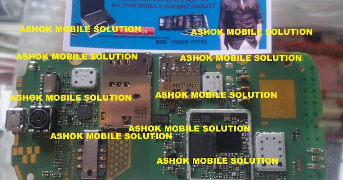 Ashok Mobile Solutions  Nokia Asha 308 Board