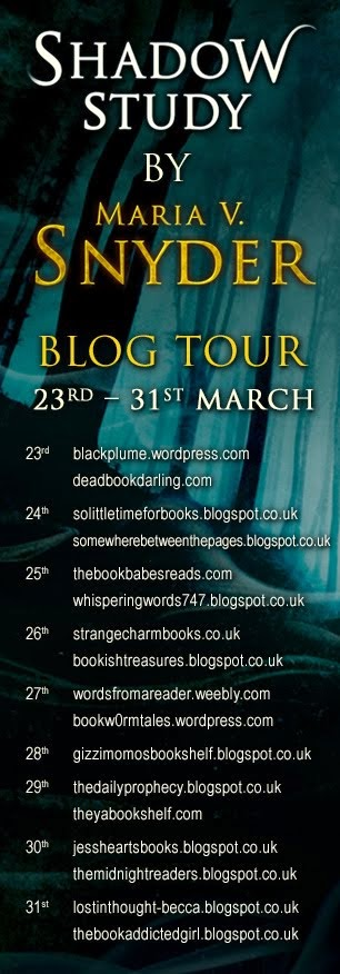 Shadow Study Blog Tour