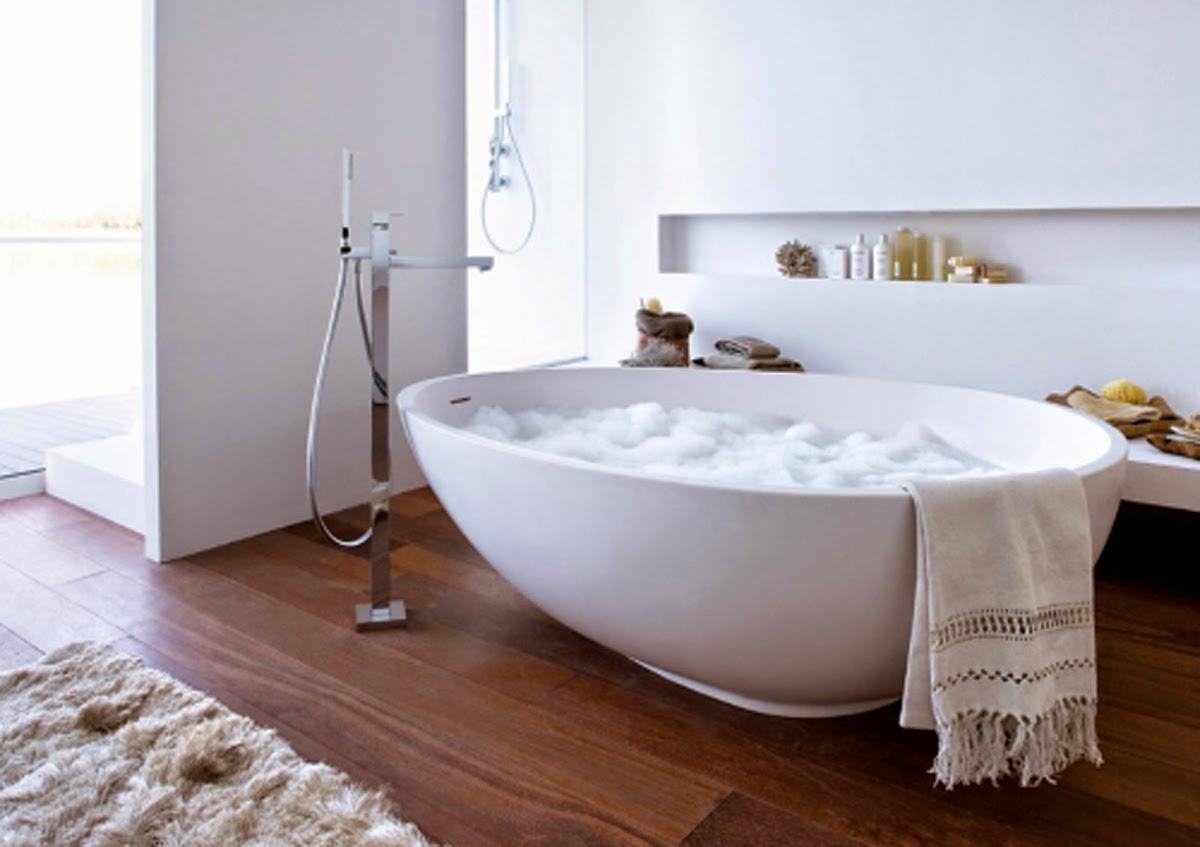 Bañeras en casa - Bañera exenta integrada en habitación