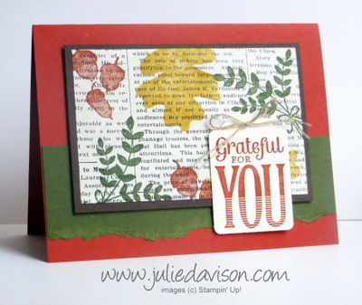 Stampin' Up! For All Thigns Card