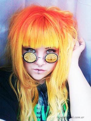 pelo de colores peinados 2014