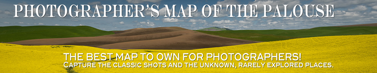 Photographer's Map of the Palouse