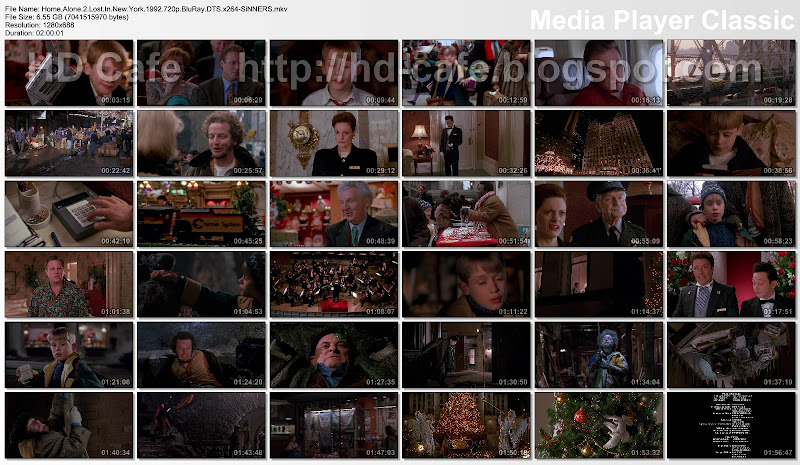Home Alone 2 - Lost in New York 1992 video thumbnails